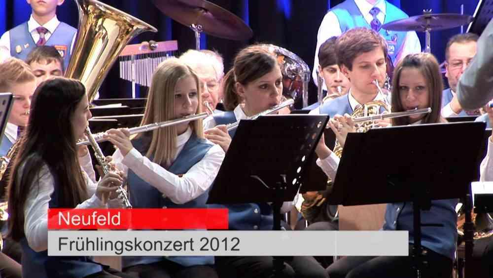 Frühlingskonzert des AMV Neufeld 2012