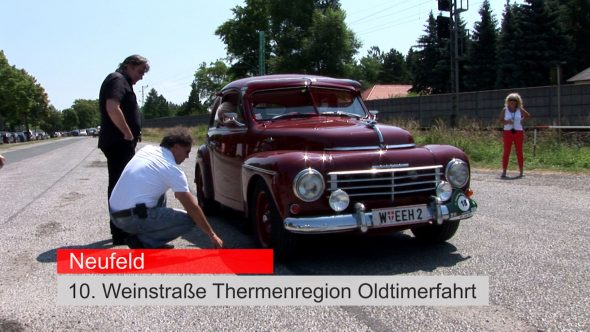Neufeld – Oldtimer-Ralley 2013
