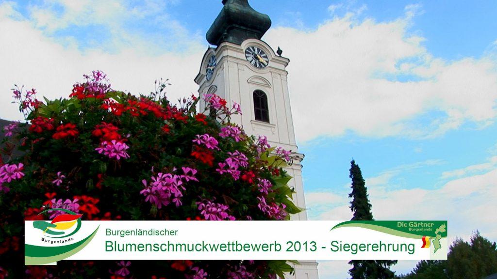 Blumenschmuckwettbewerb 2013