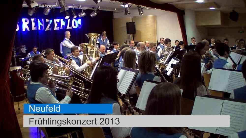 Frühlingskonzert des AMV Neufeld 2013