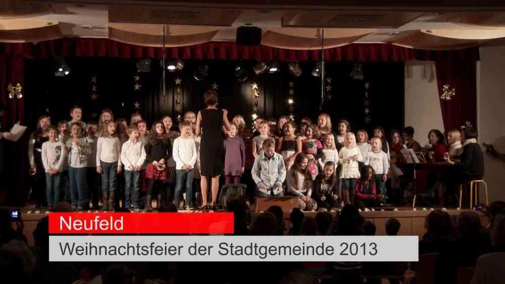 Neufelder Weihnachtsfeier 2013