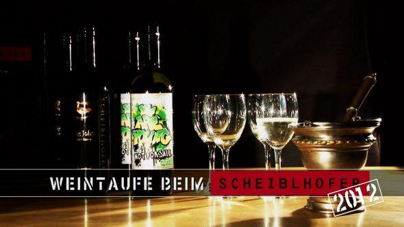 Weintaufe im Hause Scheiblhofer 2012