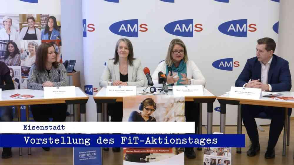 AMS Burgenland – Vorstellung des Fit Aktionstages