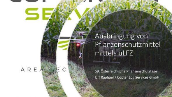 Ausbringung von Pflanzenschutzmittel mittels uLFZ