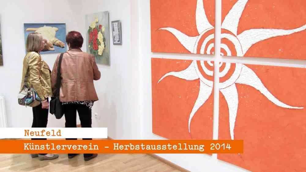 Neufeld- Herbstausstellung des Künstlerverein 2014