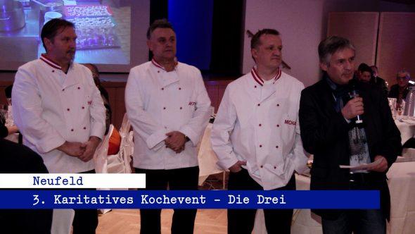 Die Drei – Das Kochevent 2015
