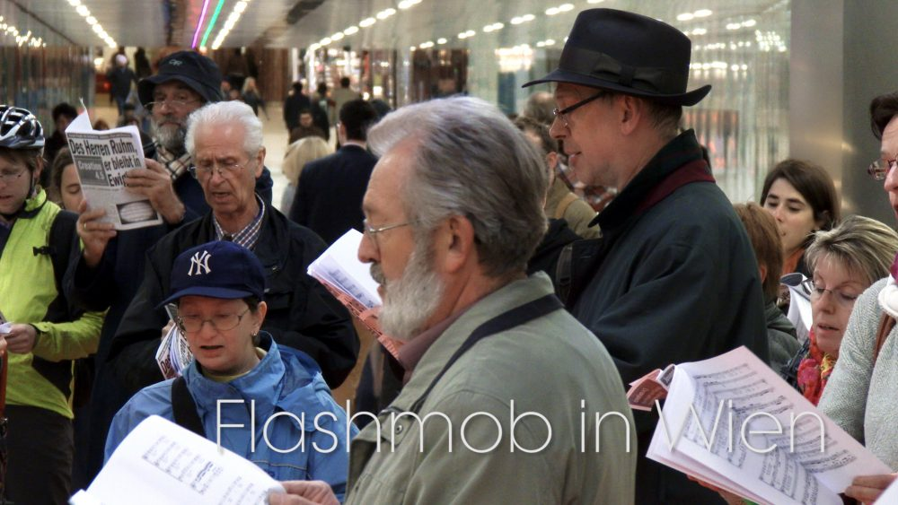 Read more about the article Flashmob – Die Schöpfung