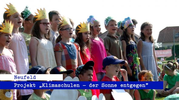 Projekt Klimaschulen – der Sonne entgegen