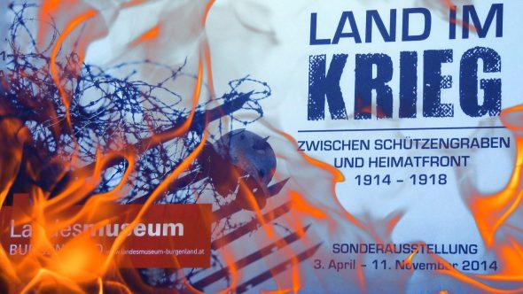 """Sonderausstellung """"Land im Krieg"""""""