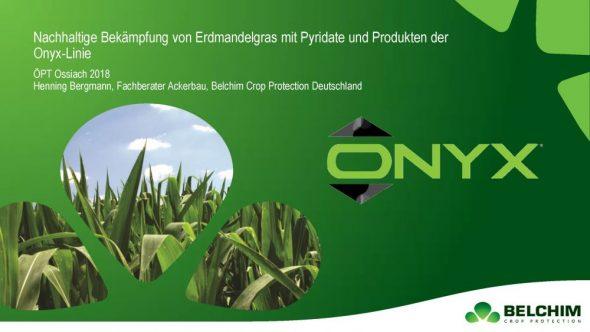 Nachhaltige Bekämpfung von Erdmandelgras mit Pyridate