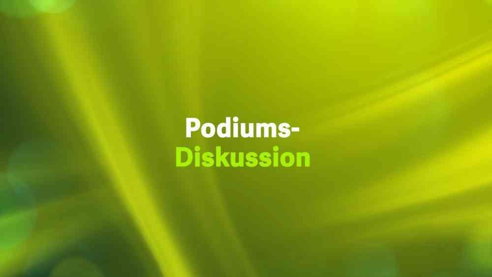 Podiumsdiskussion