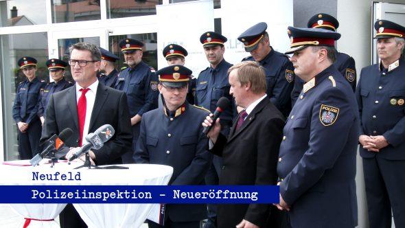 Eröffnung der Neufelder Polizeiinspektion 2015
