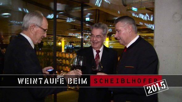 Weintaufe im Hause Scheiblhofer 2015