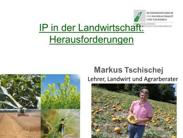 Integrierter Pflanzenschutz in der Landwirtschaft: Herausforderungen