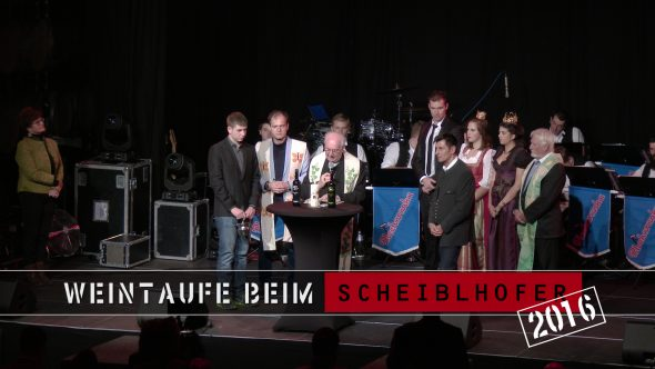 Weintaufe im Hause Scheiblhofer 2016