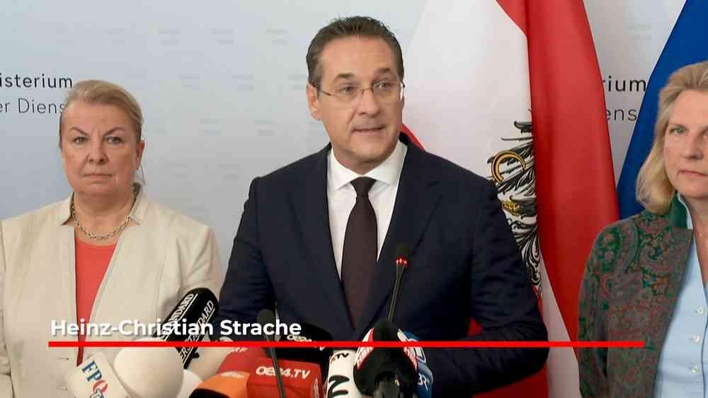 Heinz  Christian Strache – Rücktritt