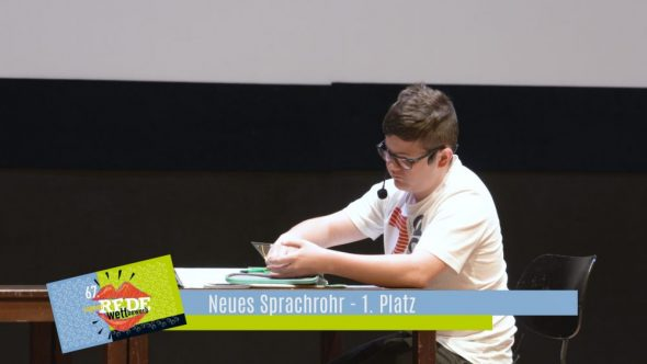 Burgenländischer Redewettbewerb 2019 – Neues Sprachrohr