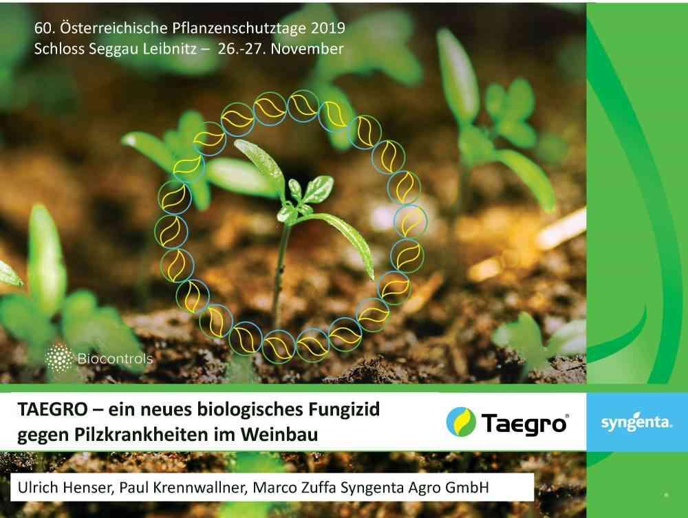 TAEGRO-ein neues biologisches Fungizid gegen Pilzkrankheiten im Weinbau_Seite_01