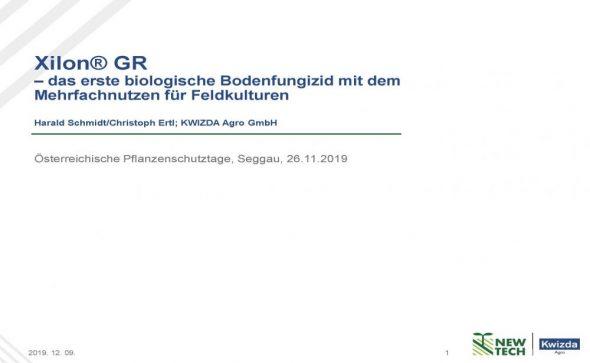 XilonGR –das erste biologische Bodenfungizid mit dem Mehrfachnutzen für Feldkulturen