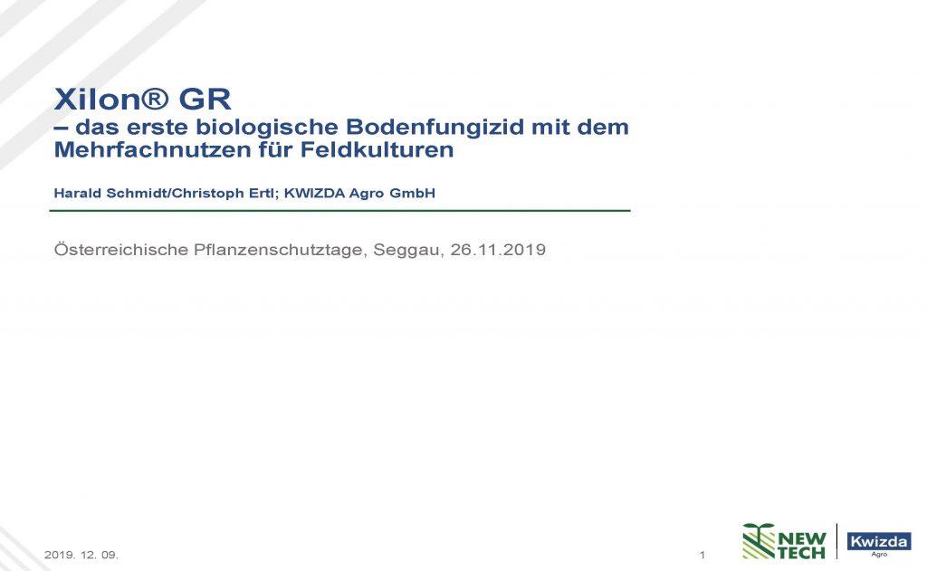 Xilon® GR –das erste biologische Bodenfungizid mit dem Mehrfachnutzen für Feldkulturen_Seite_01
