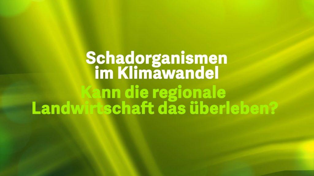 6 Schadorganissmen im Klimawandel – Österreich