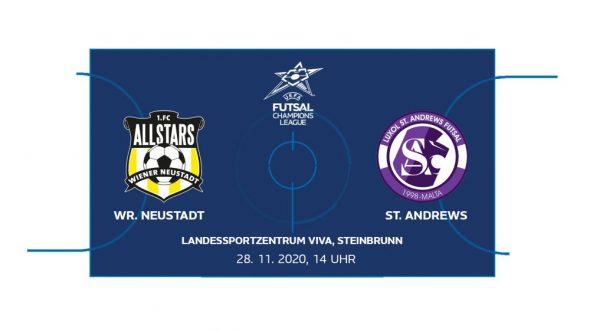 Futsal: Wr. Neustadt gegen St. Andrews