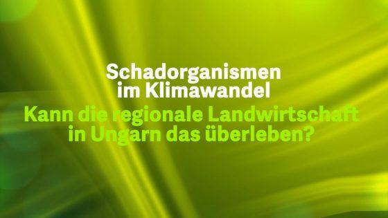 5 Schadorganissmen im Klimawandel - Ungarn