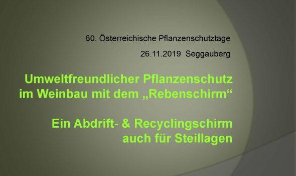 """Umweltfreundlicher Pflanzenschutz im Weinbau mit dem """"Rebenschirm""""_Seite_01"""